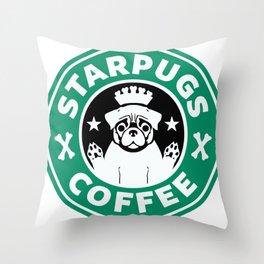 Starpugs Coffee Throw Pillow