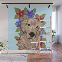 Golden Retriever Wall Mural