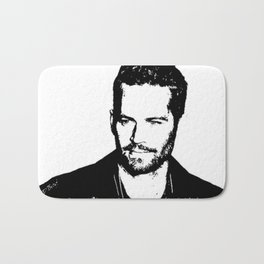 Paul Walker Bath Mat