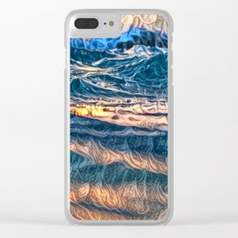 THE BEAUTY OF DEPTH ... Clear iPhone Case