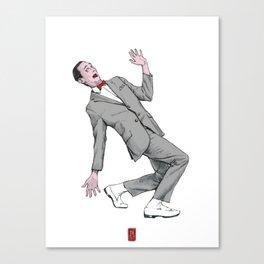 Pee Wee Herman #2 Canvas Print
