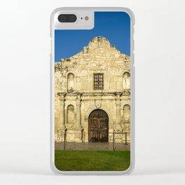 Empty Alamo Clear iPhone Case