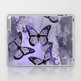 Abstract Butterfly Art Ultraviolett Colors Laptop & iPad Skin