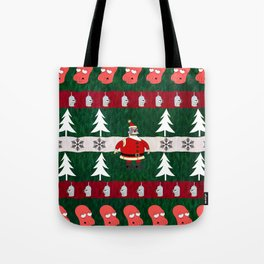 Ugly X-Mas Sweater Tote Bag