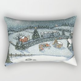 Christmas is Here Rectangular Pillow