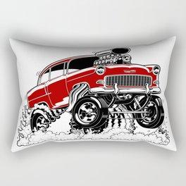 55 Gasser REV-3 RED Rectangular Pillow