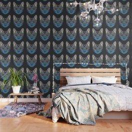 Mystic Psychedelic Cat Wallpaper