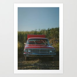 Galaxie Art Print