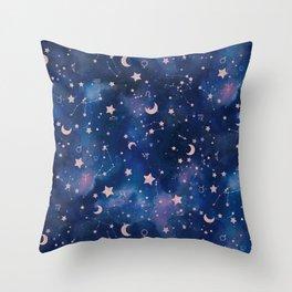 Zodiac - Watercolor Throw Pillow