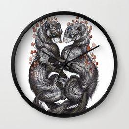 Ferret Companions Wall Clock