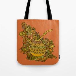 Yerba Mate In The Gourd Tote Bag