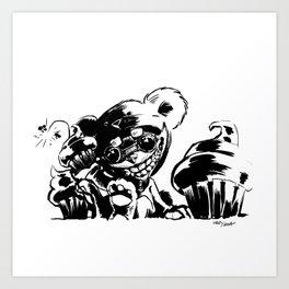 Teddy Ziggs Art Print