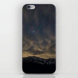 Meteor Over The Bridgers iPhone Skin