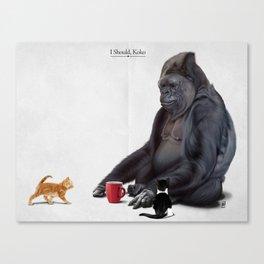 I Should, Koko Canvas Print