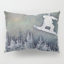 The Snowboarder Pillow Sham