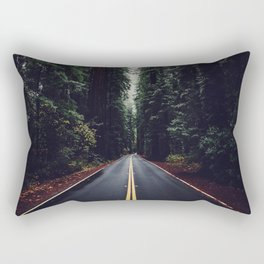 The woods have eyes Rectangular Pillow