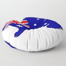Australian Flag - Ferret Floor Pillow