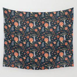 It's a cats' world! Wall Tapestry