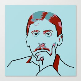 Marcel Proust Canvas Print