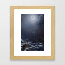 The Watcher - Small Framed Art Print