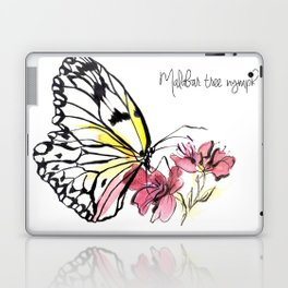 Malabar  Tree Nymph Butterfly Laptop & iPad Skin