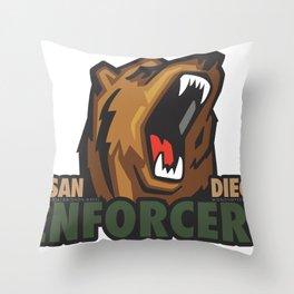 Enforcers New Logo Throw Pillow