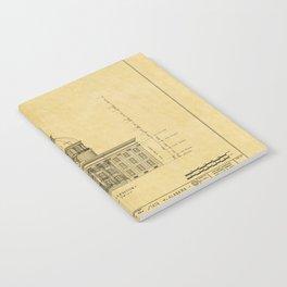 Alabama State Capitol 1851 Notebook