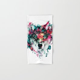 Wolf Hand & Bath Towel