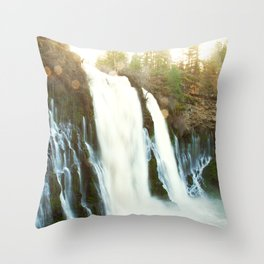 Waterfall of Dreams Throw Pillow