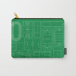 Sport Courts Pattern Art Carry-All Pouch