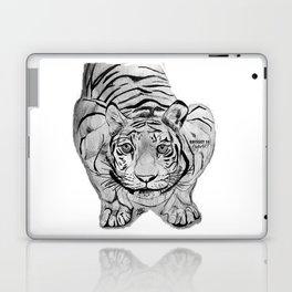 Tiger Attack Laptop & iPad Skin
