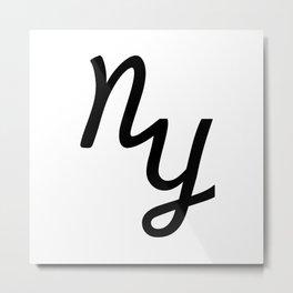 NYC Metal Print
