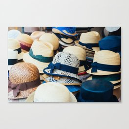 Hats! Canvas Print