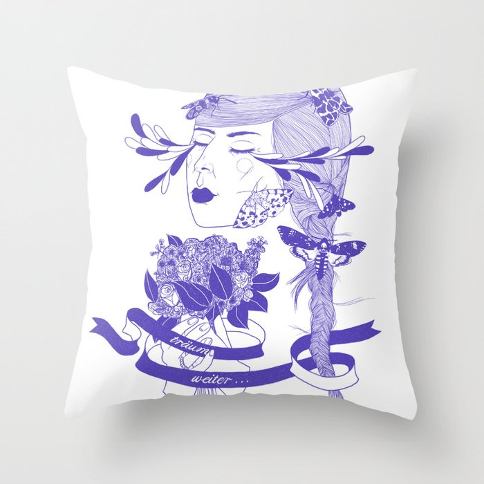 Dream on! Throw Pillow