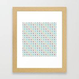 Paw Prints Framed Art Print