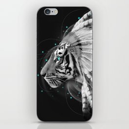 Don't Define the World (Chief of Dreams: Tiger ) Tribe Series iPhone Skin