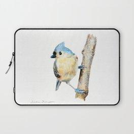 Tufted Titmouse by Teresa Thompson Laptop Sleeve