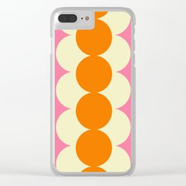 Gradual Sixties Clear iPhone Case