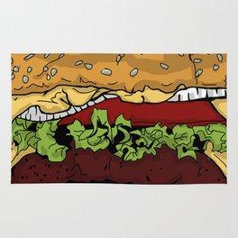 Cheeseburger Rug