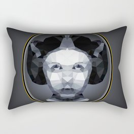 Remember Carrie Lowpoly Rectangular Pillow