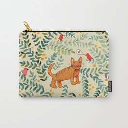 minou jaune (this yellow cat) Carry-All Pouch