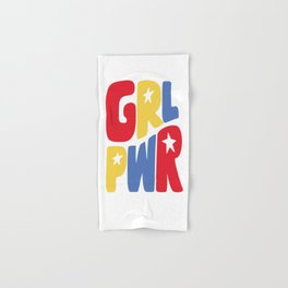 GRL PWR Star Hand & Bath Towel