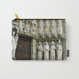 Notre Dame Cathedral Paris Detail Carry-All Pouch