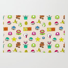 Mario pattern Rug