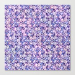 Botanical In Blue Canvas Print