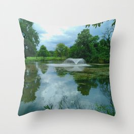 Beauty in the Park - Clissold Park Stoke Newington London Throw Pillow
