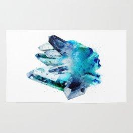 Watercolor Gemstone Rug