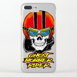 Ghost Bobber Rider Clear iPhone Case