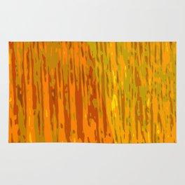 Golden curtain Rug