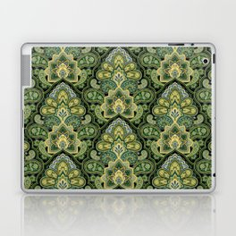 Green and Blue Paisley Laptop & iPad Skin